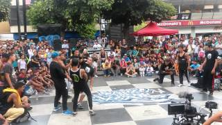 ABORIGENES Vs TEAM LOCO eliminatoria Criollo Style 2014