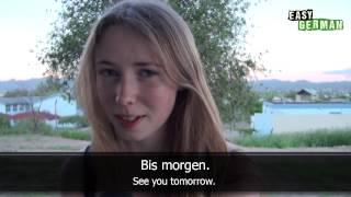 Easy German Basic Phrases - Greetings