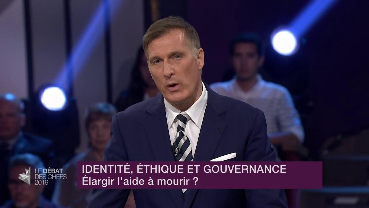Maxime Bernier répond à la question d'un citoyen sur l'aide médicale à mourir