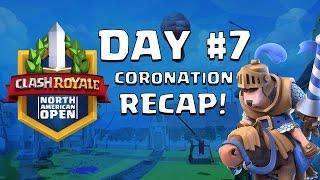Clash Royale: Reddit Alpha Faceoff! Coronation Day 7 Highlights - CRNAO
