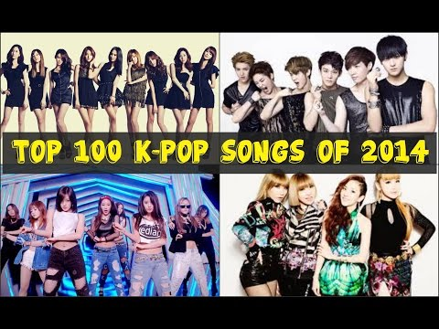 TOP 100 K-POP SONGS OF 2014 (January to September)