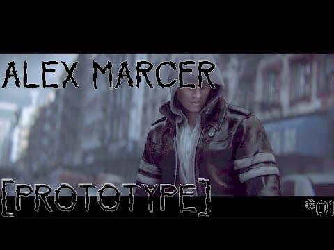ALEX MARCER - PROTOTYPE    #01