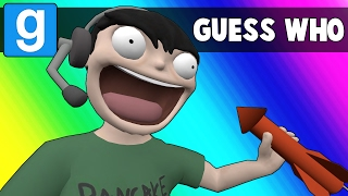 Gmod Guess Who Funny Moments - Crazy New Abilities! (Garry