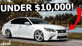 Best Used Luxury Cars Under $10,000 To Buy!