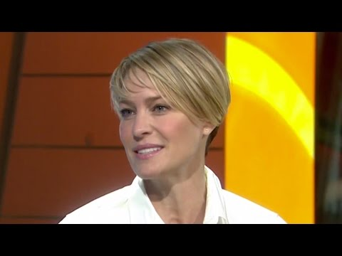 Robin Wright On House Of Cards Success | TODAY