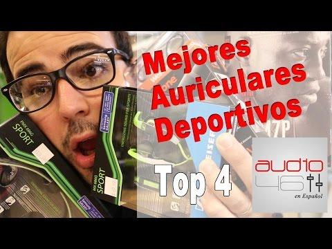 Top 4 Mejores Audífonos deportivos.