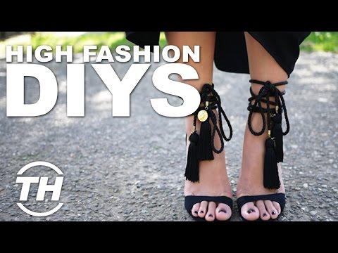 Top 4 Fashion DIY Projects | High Fashion DIY