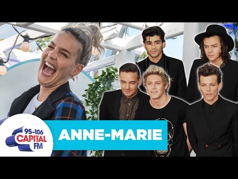 Anne-Marie Reveals Who The Hottest 1D Member Is | Capital