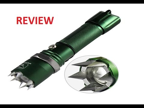 Urgod Self Defense CREE LED Flashlight Review