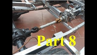 TECH - Homemade a car with gearbox strong car 500 kg - part 8
