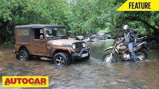 Offroad Battle - Mahindra Thar Vs Hero Impulse | Feature | Autocar India