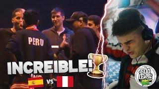 ESPAÑA 🇪🇸 VS PERÚ 🇵🇪 | God Level Perú - ¡BATALLON!! (Reacción)