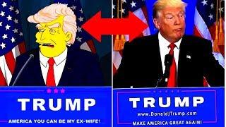 24 Simpsons Vorhersagen, Die Tatsächlich Wahr Geworden Sind!