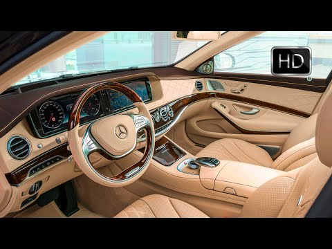 2016 Mercedes-Maybach S600 Luxury Car Interior Design HD