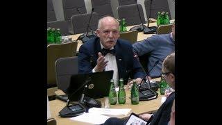 Jesteście po prostu śmieszni – Janusz Korwin-Mikke vs Komisja Zdrowia