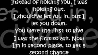 Faber Drive - Second Chance - Lyrics