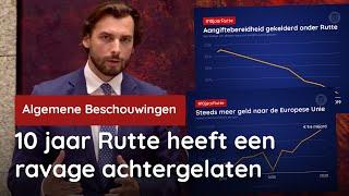 KIJKEN! De volledige #10jaarRutte-speech van Thierry Baudet!