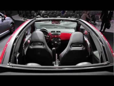 Fiat Abarth Cabrio 500c - 2012 L.A. Auto Show