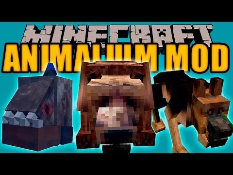 ANIMALIUM MOD - Animales Realistas! (no como las vacas) - Minecraft mod 1.10.2 Review