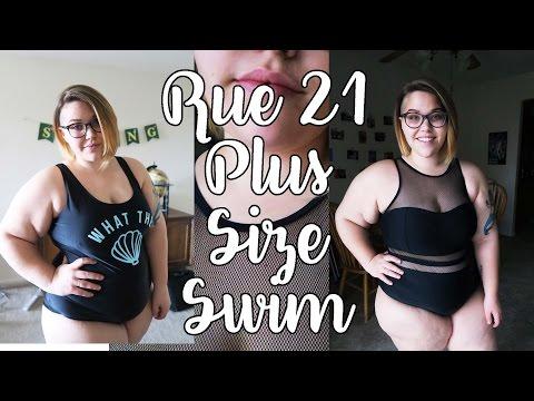 Rue 21 Plus Size Swim Review