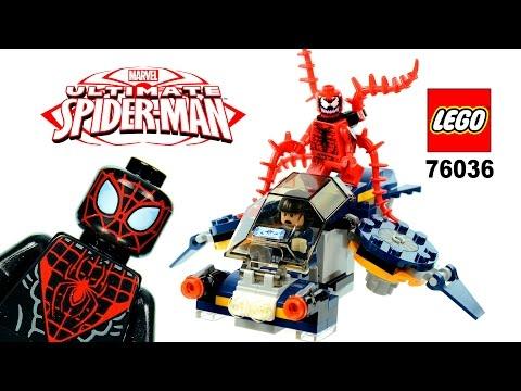 Vidéo LEGO Marvel Super Heroes 76036 :  L'attaque aérienne de Carnage contre le SHIELD