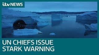 World is approaching 'point of no return' on climate change | ITV News