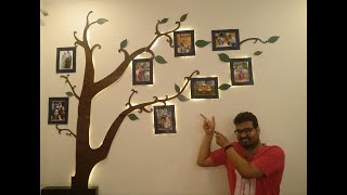 Beautiful Wall Decor - Make Family Tree @Rs 500