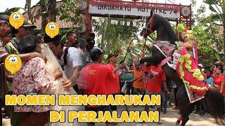 Momen Haru Di Tengah Perjalanan|| Arak Arakan Kuda Desa Jrakah || Naik Kuda Istimewa