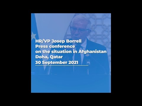 Press conference in Doha, Qatar | #02 Situation in Afghanistan | 30/09/2021