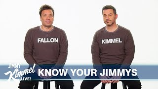 Jimmy Kimmel & Jimmy Fallon Finally Clear Up Who Is Who