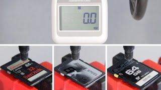 Delkin BLACK SD UHS-II Durability Test
