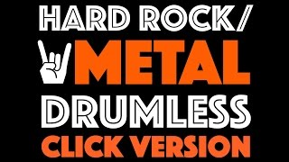 Metal Drumless Backing Track For Drums Click Track Version