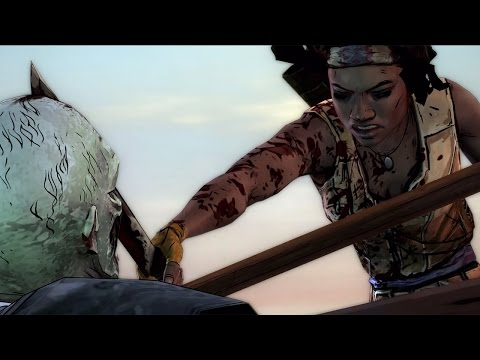 The Walking Dead: Michonne - Episode 1 - 'In Too Deep' Launch Trailer thumbnail