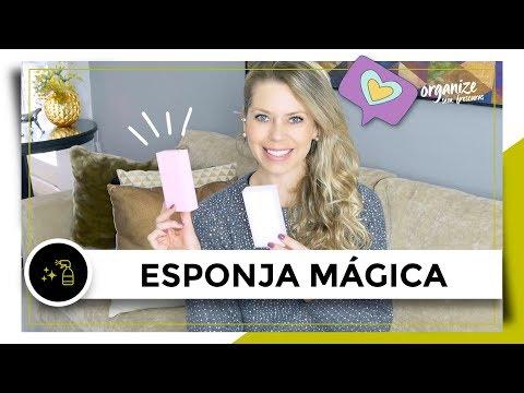 LIMPEZA DA CASA COM APENAS ÁGUA E ESPONJA MÁGICA!