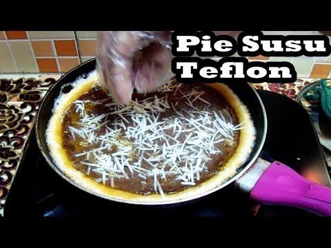 Video Resep Cara Membuat Pie Susu Cokelat Keju Menggunakan Teflon