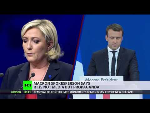 Macron's campaign accuses RT of spreading 'fake news,' dodges requests for clarification