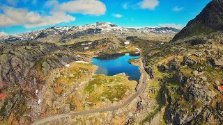 DJI FPV DRONE FLIGHT IN THE MOUNTAINS AND FLYING INSIDE CLOUDS HIGH IN THE AIR 4K AWESOME VIDEO