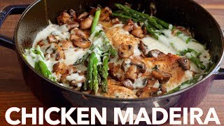 Creamy Chicken Madeira - (Cheesecake Factory Copycat Recipe)