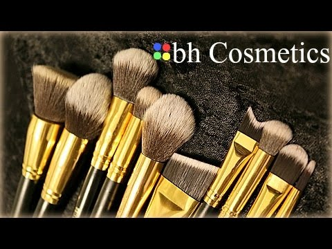Marble Luxe 10 Piece Brush Set by BH Cosmetics #10