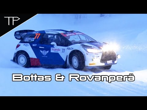 Image: WATCH: Valtteri Bottas takes on the snow in Arctic Lapland Rally!