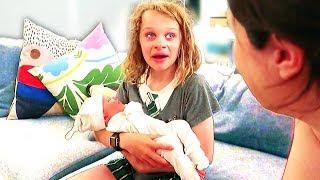 WE CRIED WHEN WE MET OUR NEW SISTER *emotional* w/Norris Nuts