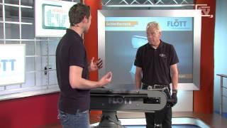 WERKZEUG TV #49 Bandschleifmaschine BSM 75 A pol - Flott