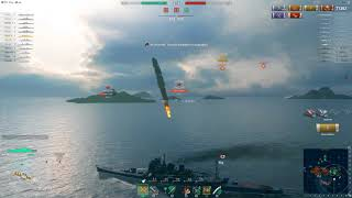 Очень удачный бой на ARP-Takao,