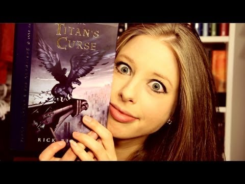 THE TITAN'S CURSE BY RICK RIORDAN: booktalk with XTINEMAY