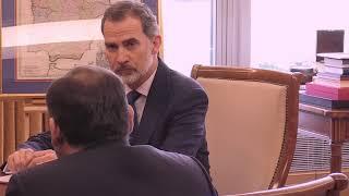 Audiencia al ministro de Transportes, Movilidad y Agenda, José Luis Ábalos Meco