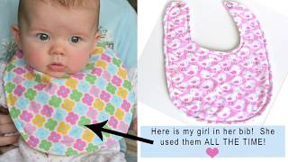 How To Sew A Simple Baby Bib By Gingercake