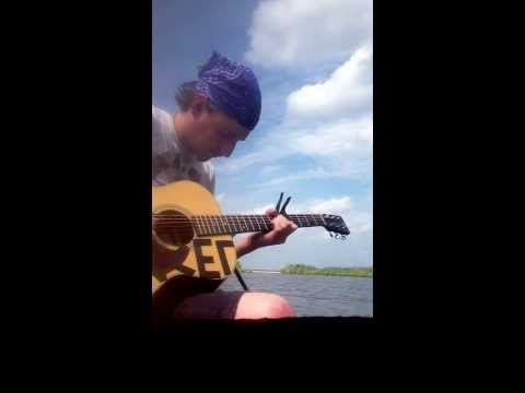 Avett Brothers - If It's The Beaches (cover...and a crab grabs my toe in the third verse.)