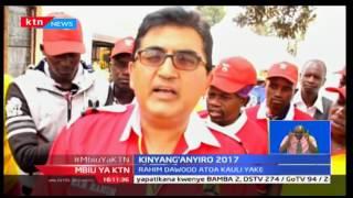 Mbiu ya KTN taarifa Kamili na Mary Kilobi 19/2/2017 [Sehemu ya Kwanza]