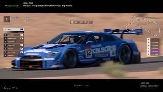 Gran Turismo™SPORT - Willow Springs Nissan GTR Gr2 (online race) v2