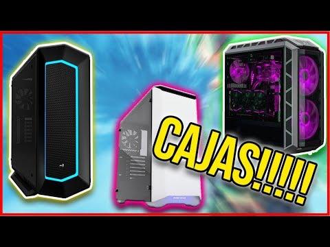 Elige  la mejor caja para tu PC GAMING | Presupuestos entre 30 y 150€